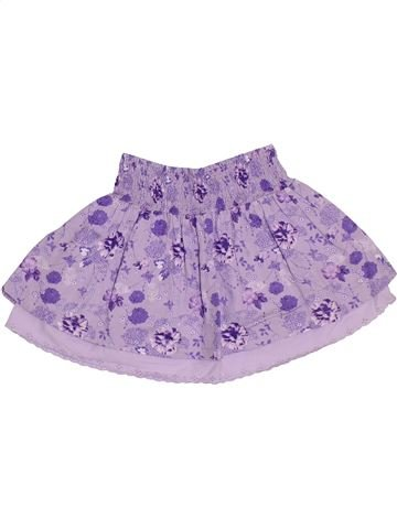 Falda niña TOUT COMPTE FAIT violeta 4 años verano #1331640_1