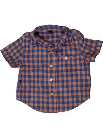 Chemise manches courtes garçon GAP gris 12 mois été #1331654_1