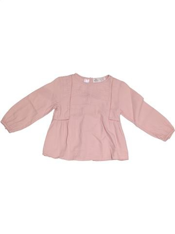 Blouse manches longues fille ZARA rose 3 ans hiver #1331782_1