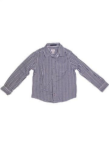 Chemise manches longues garçon CYRILLUS gris 6 ans hiver #1331806_1