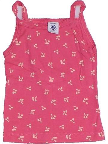 Camiseta sin mangas niña PETIT BATEAU rosa 3 años verano #1331935_1