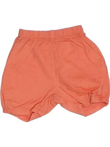Short - Bermuda fille MARÈSE orange 6 mois été #1332161_1