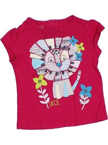 Camiseta de manga corta niña LA COMPAGNIE DES PETITS blanco 2 años verano #1332482_1