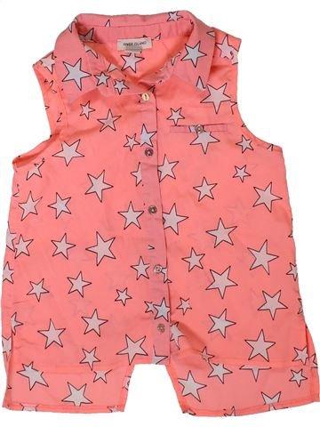 Blusa de manga corta niña RIVER ISLAND rosa 4 años verano #1332503_1