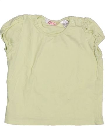 Camiseta de manga corta niña LA REDOUTE CRÉATION beige 12 meses verano #1333116_1