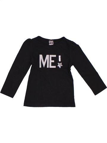 Camiseta de manga larga niña TAPE À L'OEIL negro 2 años invierno #1333318_1