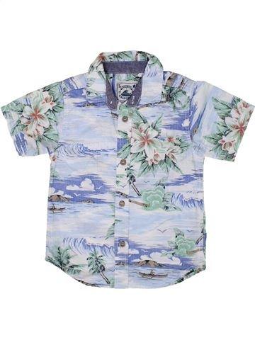 Chemise manches courtes garçon TU bleu 5 ans été #1333375_1
