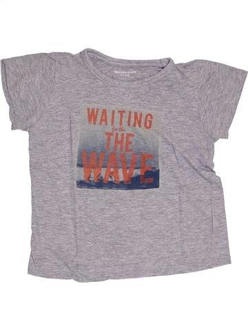 Camiseta de manga corta niño MONOPRIX violeta 6 años verano #1333684_1