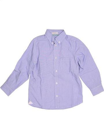 Chemise manches longues garçon H&M gris 7 ans hiver #1333688_1