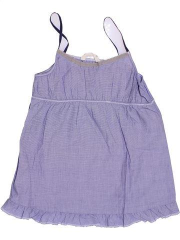 Blouse manches courtes fille BELLEROSE violet 8 ans été #1333786_1