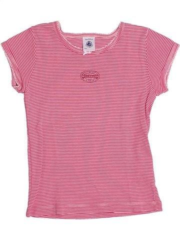 Camiseta de manga corta niña PETIT BATEAU rosa 5 años verano #1333849_1