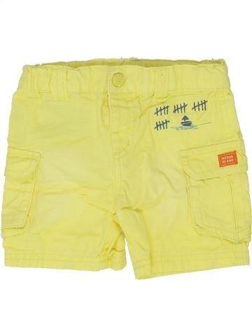 Short - Bermuda garçon DPAM jaune 3 mois été #1334206_1