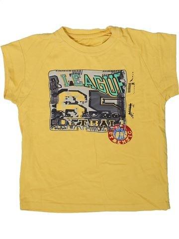 T-shirt manches courtes garçon DUNNES STORES jaune 7 ans été #1334211_1