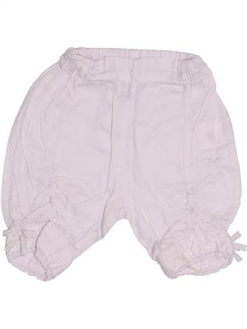 Short-Bermudas niña MARÈSE blanco 3 meses verano #1334347_1