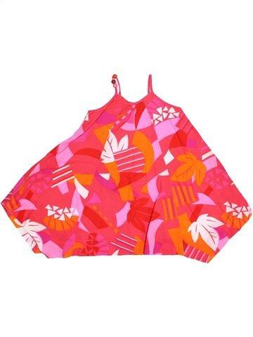 Vestido niña JEAN BOURGET rojo 3 años verano #1334456_1