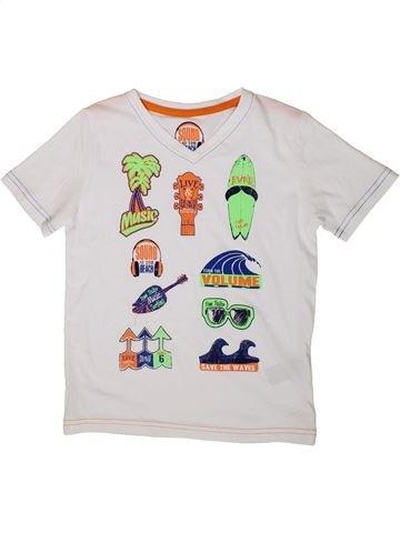 T-shirt manches courtes garçon TOM TAILOR blanc 7 ans été #1334506_1