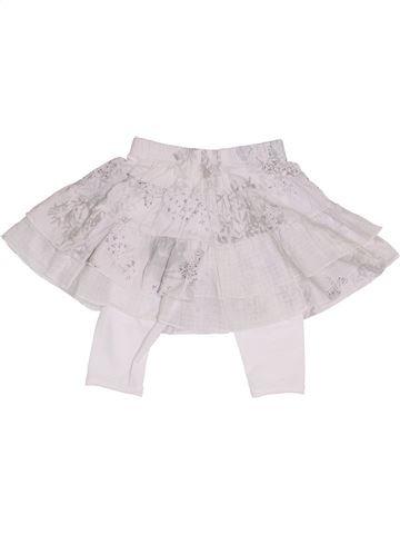 Falda niña CONFETTI blanco 2 años verano #1334628_1