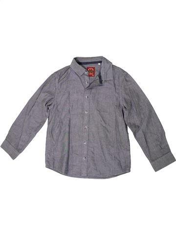Chemise manches longues garçon TU gris 10 ans hiver #1334751_1