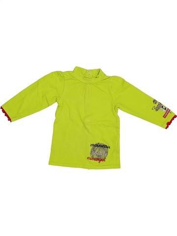 T-shirt manches longues fille PREMAMAN vert 6 mois hiver #1334780_1