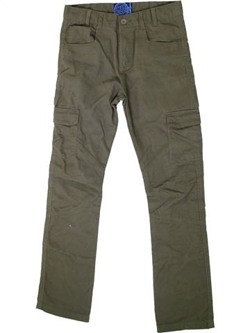 Pantalon garçon BLUEZOO gris 13 ans hiver #1334850_1