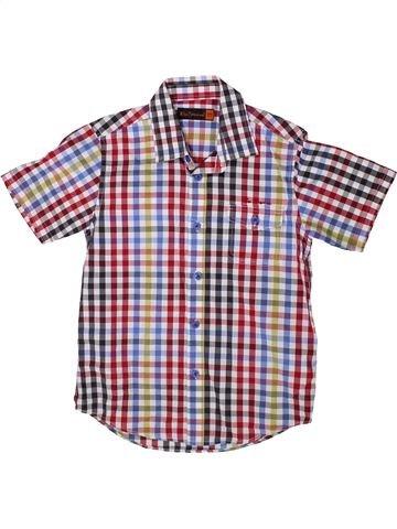 Chemise manches courtes garçon BEN SHERMAN gris 7 ans été #1334858_1