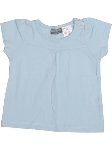 Camiseta de manga corta niña LA REDOUTE CRÉATION gris 6 meses verano #1334899_1