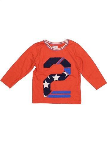 Camiseta de manga larga niño TAPE À L'OEIL rojo 2 años invierno #1335176_1
