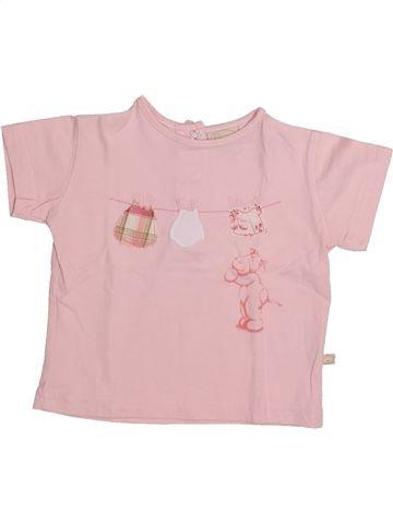 Camiseta de manga corta niña NOUKIE'S rosa 6 meses verano #1335217_1