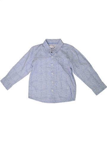 Chemise manches longues garçon MONSOON bleu 6 ans hiver #1335260_1