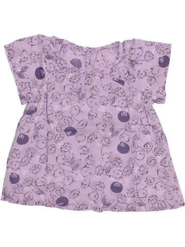Blouse manches courtes fille LISA ROSE violet 2 ans été #1335674_1
