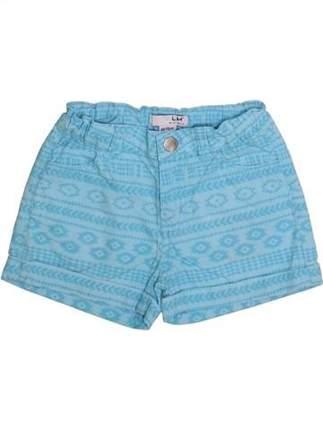 Short - Bermuda fille LH BY LA HALLE bleu 6 ans été #1335798_1