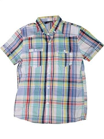 Chemise manches courtes garçon GEORGE gris 14 ans été #1335827_1