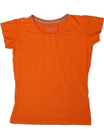 T-shirt manches courtes fille SOHO orange 12 ans été #1335875_1