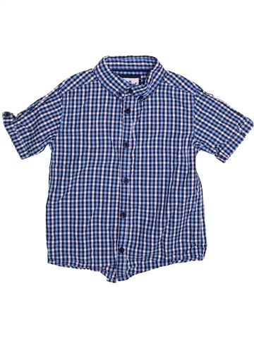 Chemise manches courtes garçon PRIMARK bleu 7 ans été #1335931_1