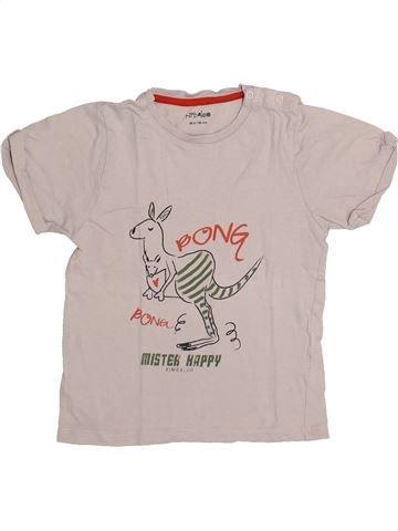 T-shirt manches courtes garçon KIMBALOO gris 3 ans été #1335978_1