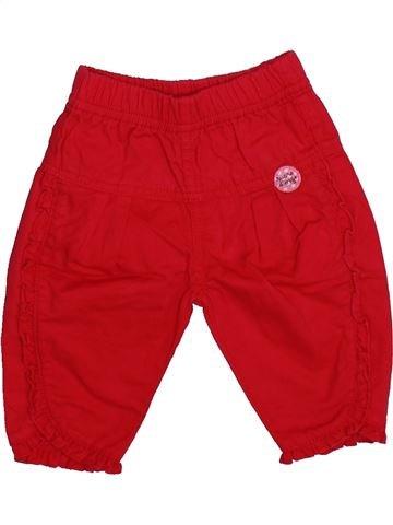Pantalon fille SUCRE D'ORGE rouge 3 mois été #1336269_1