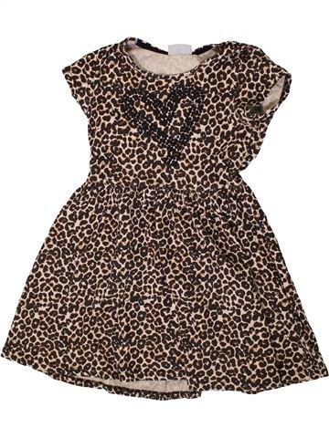 Vestido niña I LOVE GIRLSWEAR marrón 8 años verano #1336371_1