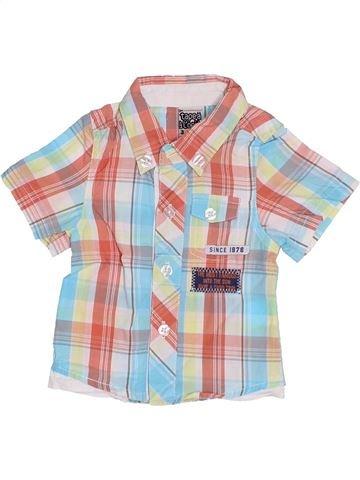 Chemise manches courtes garçon TAPE À L'OEIL blanc 3 mois été #1336557_1