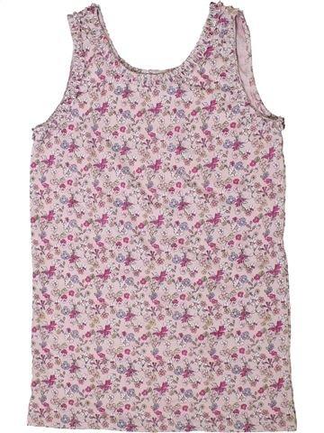 T-shirt sans manches fille I LOVE GIRLSWEAR gris 13 ans été #1336561_1
