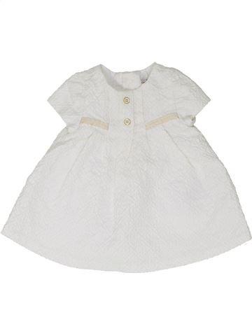 Vestido niña MAYORAL blanco 3 meses verano #1336928_1