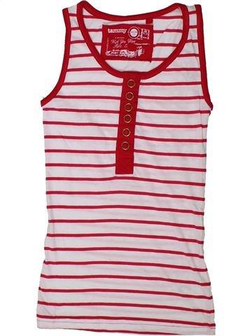 Camiseta sin mangas niña TAMMY rosa 11 años verano #1337327_1