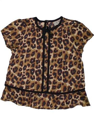Blusa de manga corta niña NEXT marrón 3 años verano #1337740_1