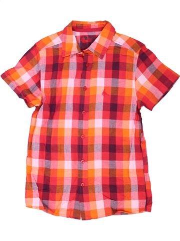Chemise manches courtes garçon CHEROKEE rouge 11 ans été #1338057_1