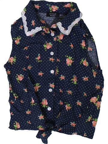 Blusa de manga corta niña KYLIE azul 10 años verano #1338233_1