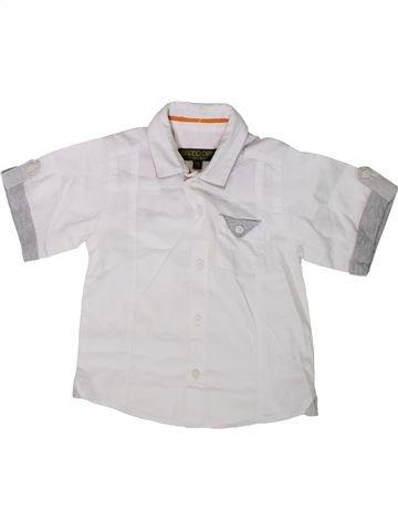 Chemise manches courtes garçon TED BAKER blanc 3 ans été #1338890_1