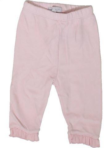Pantalon fille ZIP ZAP rose 3 mois été #1339108_1