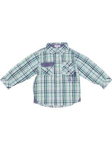 Chemise manches longues garçon ALPHABET gris 2 ans hiver #1339260_1