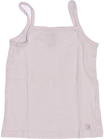 Camiseta sin mangas niña ORCHESTRA blanco 2 años verano #1339857_1