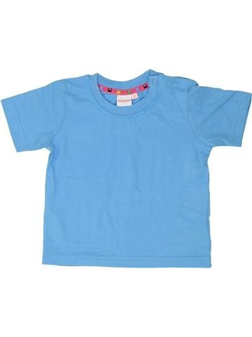 T-shirt manches courtes garçon DEBENHAMS bleu 9 mois été #1339948_1