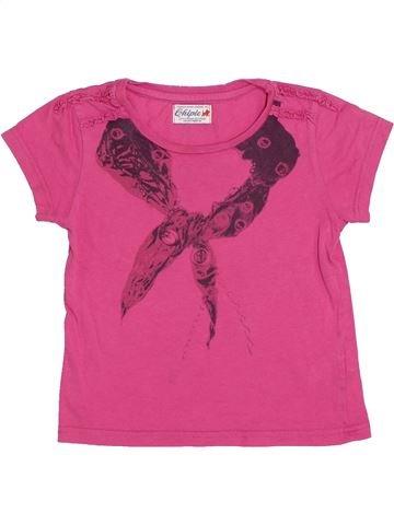 Camiseta de manga corta niña CHIPIE rosa 4 años verano #1340030_1